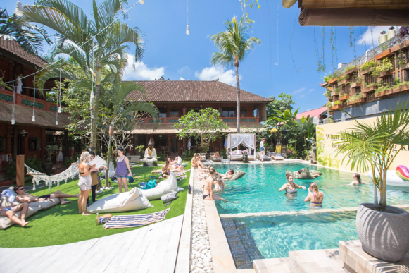 Puri Garden Hotel and Hostel bali one month itinerary