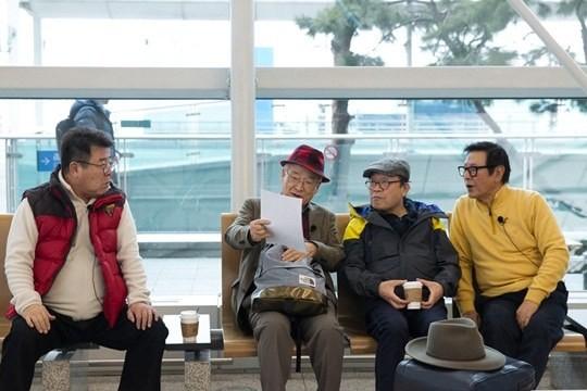 綜藝節目《花樣爺爺3》節目組已出發前往西班牙進行拍攝 - KSD 韓星網 (明星)