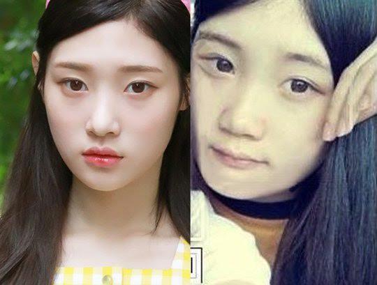 鄭采妍同學貼舊照力挺:她真的只做過鼻子 - KSD 韓星網 (明星)