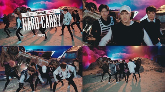 GOT7公開新歌《Hard Carry》舞蹈預告片 動感強勁 - KSD 韓星網 (KPOP)