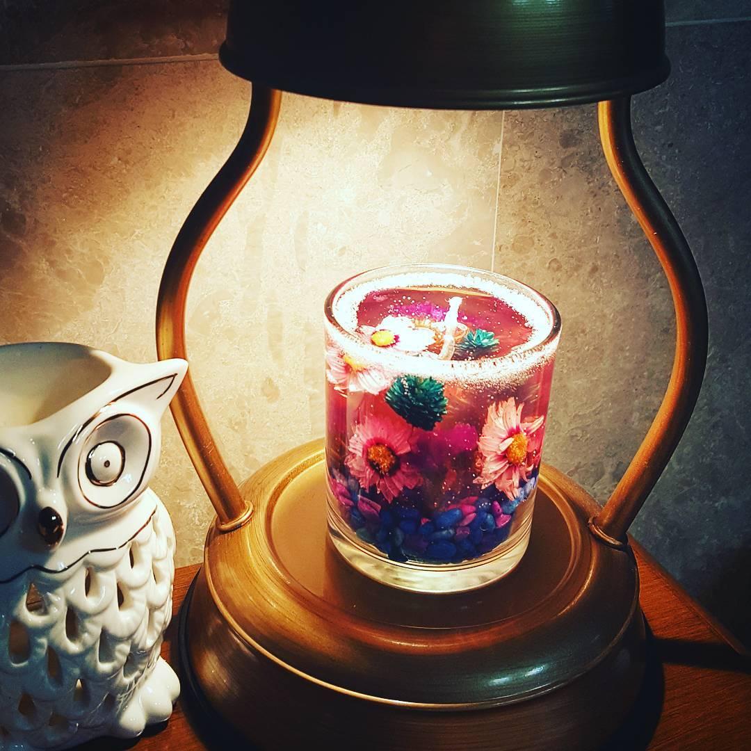 韓國這些果凍蠟燭實在太漂亮啦! 而且設計超體貼。不擔心用一用就不見了! - KSD 韓星網 (生活)