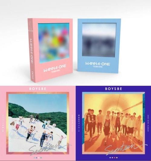 Wanna One專輯封面公開! 然而顏色和所屬社這一舉動卻再惹爭議。粉絲高呼:「投票換公司! 」 - KSD 韓星網 (明星)