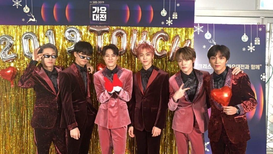 在《SBS歌謠大戰》參加了2次紅毯拍照的愛豆——NCT Dream & NCT127成員楷燦 - KSD 韓星網 (明星)