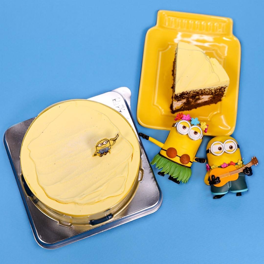 韓國7-11推出『小小兵香蕉巧克力蛋糕』 - KSD 韓星網 (生活)