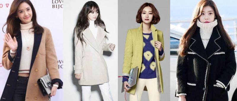 韓國女星告訴你:冬季穿搭最美是米色! - KSD 韓星網 (Beauty)