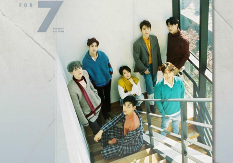 GOT7即將於12/7日發行再版專輯《7 FOR 7 PRESENT EDITION》 回歸歌謠界 - KSD 韓星網 (KPOP)