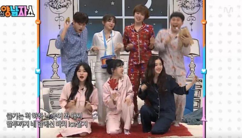 《新兩男人SHOW》Red Velvet帶來改編版ROOKIE舞臺 展現反轉魅力 - KSD 韓星網 (綜藝)