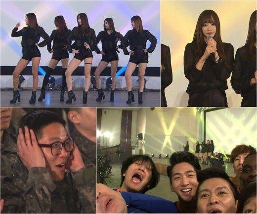 EXID驚喜現身《我們社區藝體能》 主持來賓全瘋狂 - KSD 韓星網 (明星)