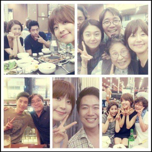 《金子輕鬆出來吧》李泰成公開聚餐現場照片 慶祝收視率破22.2% - KSD 韓星網 (韓劇)