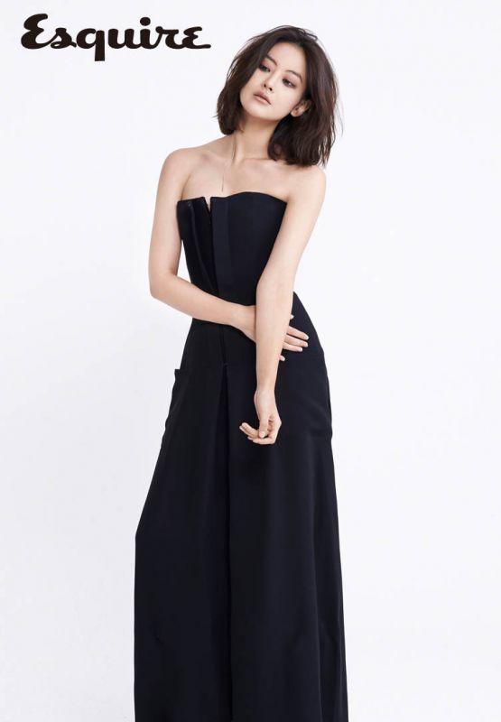 吳漣序時尚大片 黑裙魅惑盡顯 - KSD 韓星網 (時尚)