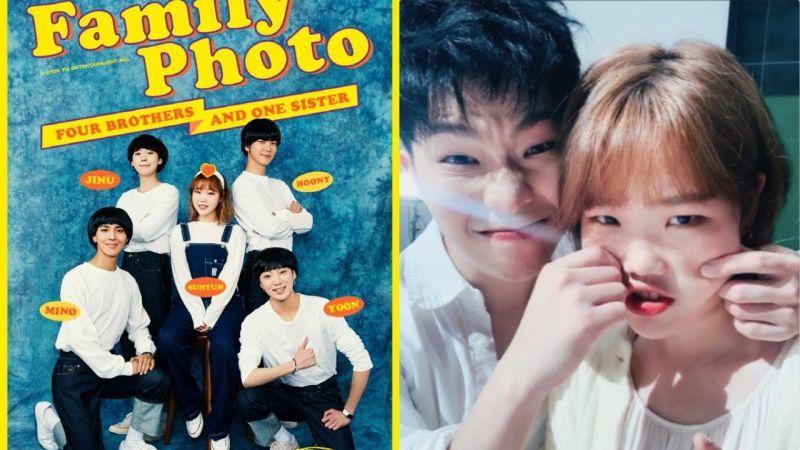 樂童李秀賢上傳與WINNER的預告照:「與新哥哥們的家族照片」親哥李燦赫回覆...卻被她回:「你是誰呀」 - KSD ...