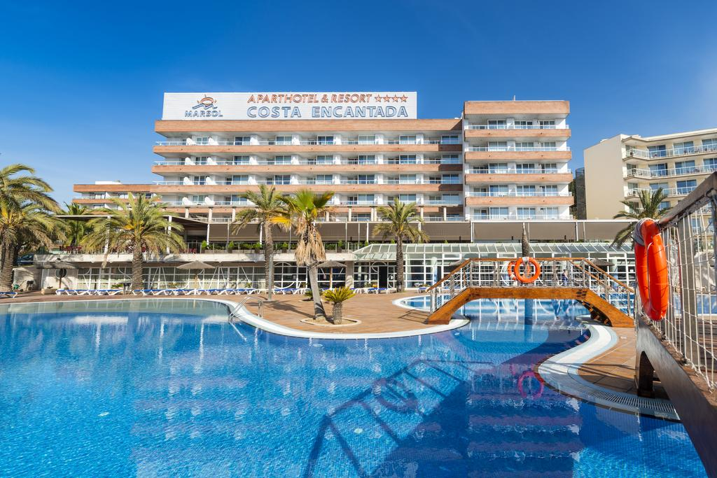 Costa Encantada Aparthotel In Lloret De Mar Spain