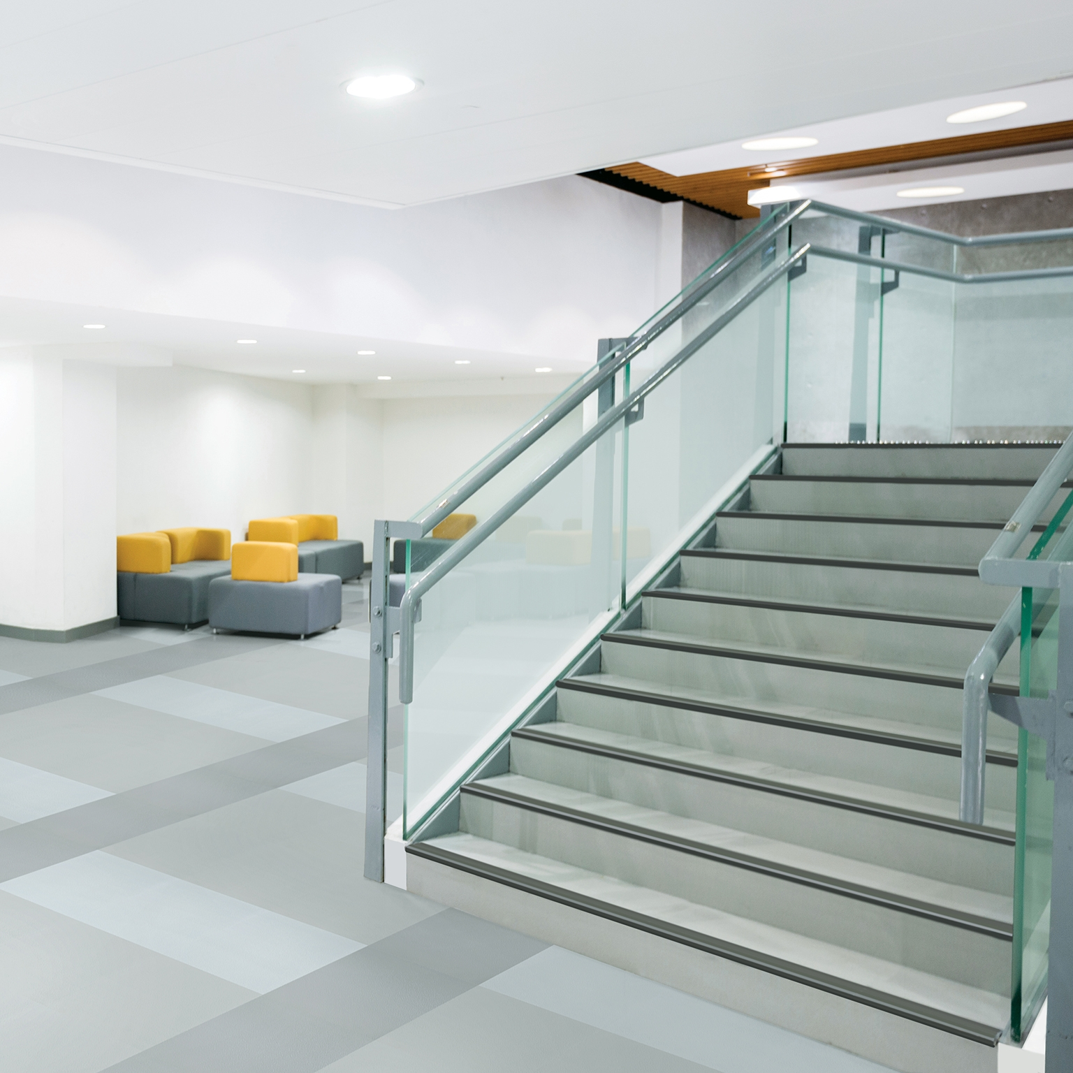 Stair Nosings Stair Systems Accessories Mannington Commercial   Rubber Stair Nosing For Carpet   Metal Stair   Aluminium Stair   Wood   Anti Slip   Non Slip