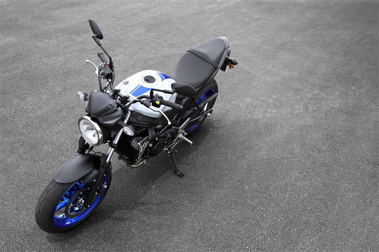 Suzuki SV 650: Recupera el estilo deportivo - foto 3