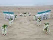 Barefoot Beach Bride . Ocean City Maryland Md