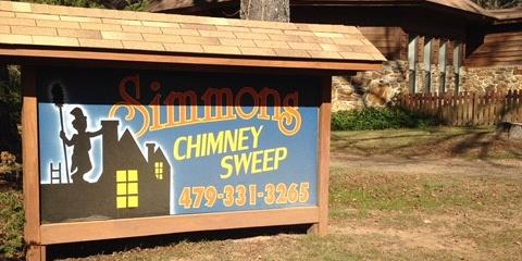 Simmons Chimney Sweep & Fireplace Shop in Dover, AR 72837