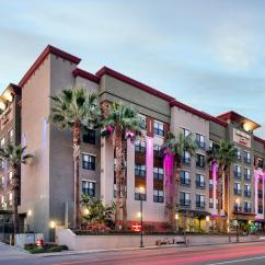 Hotels With Kitchen In Los Angeles Pot Racks For Residence Inn By Marriott Burbank Downtown