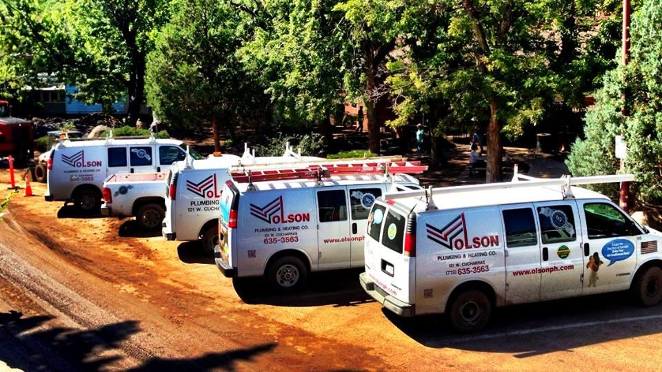 Olson Plumbing  Heating Co in Colorado Springs CO  719
