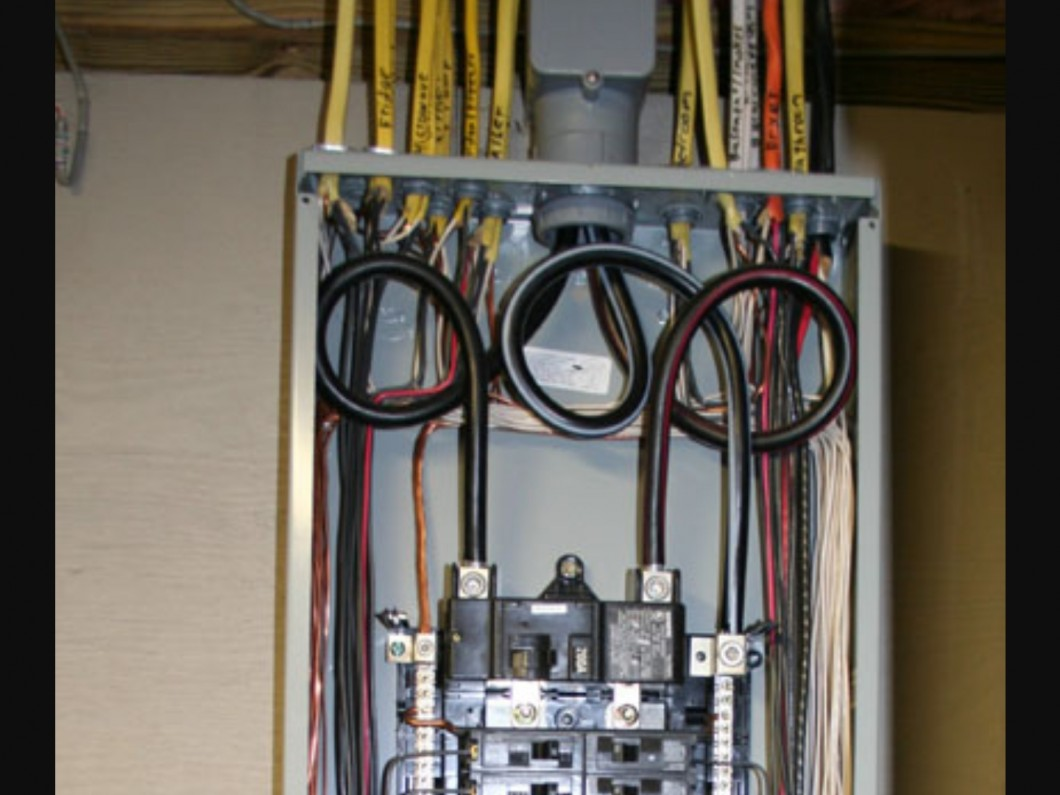 hight resolution of your electrical panel regulates the energy flow in your home if your panel is old or defective it may not support the increased energy demands of your