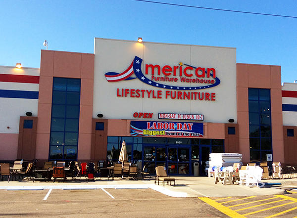 American Furniture Warehouse in Colorado Springs CO 80907