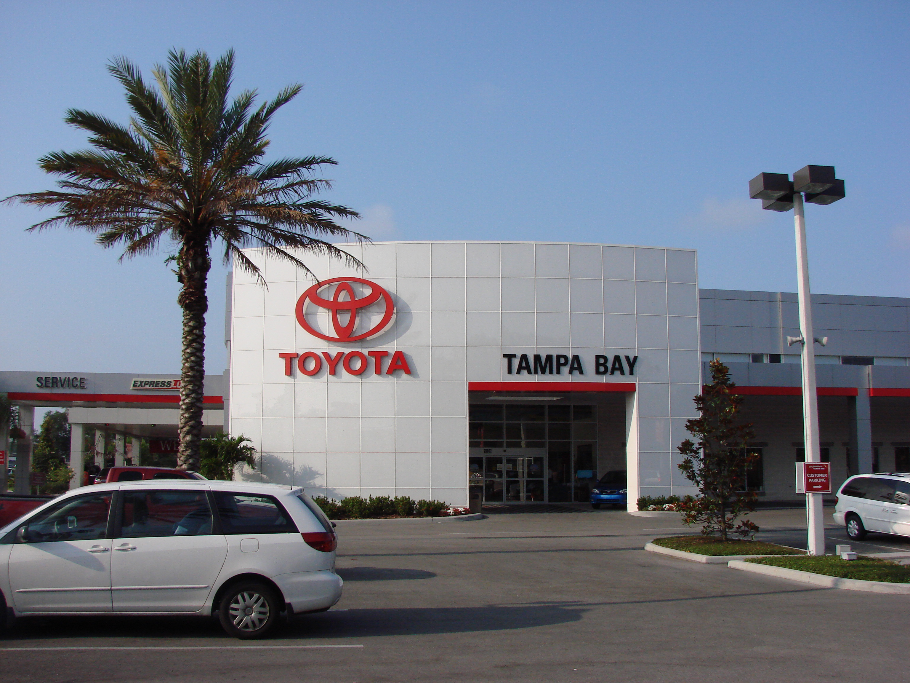 Toyota Of Tampa Bay In Tampa, Fl  (813) 4021