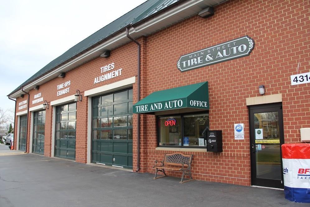 Main Street Tire & Auto 43141 Town Hall Plaza Chantilly