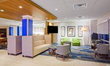 Holiday Inn Express Lobby Blue Formula