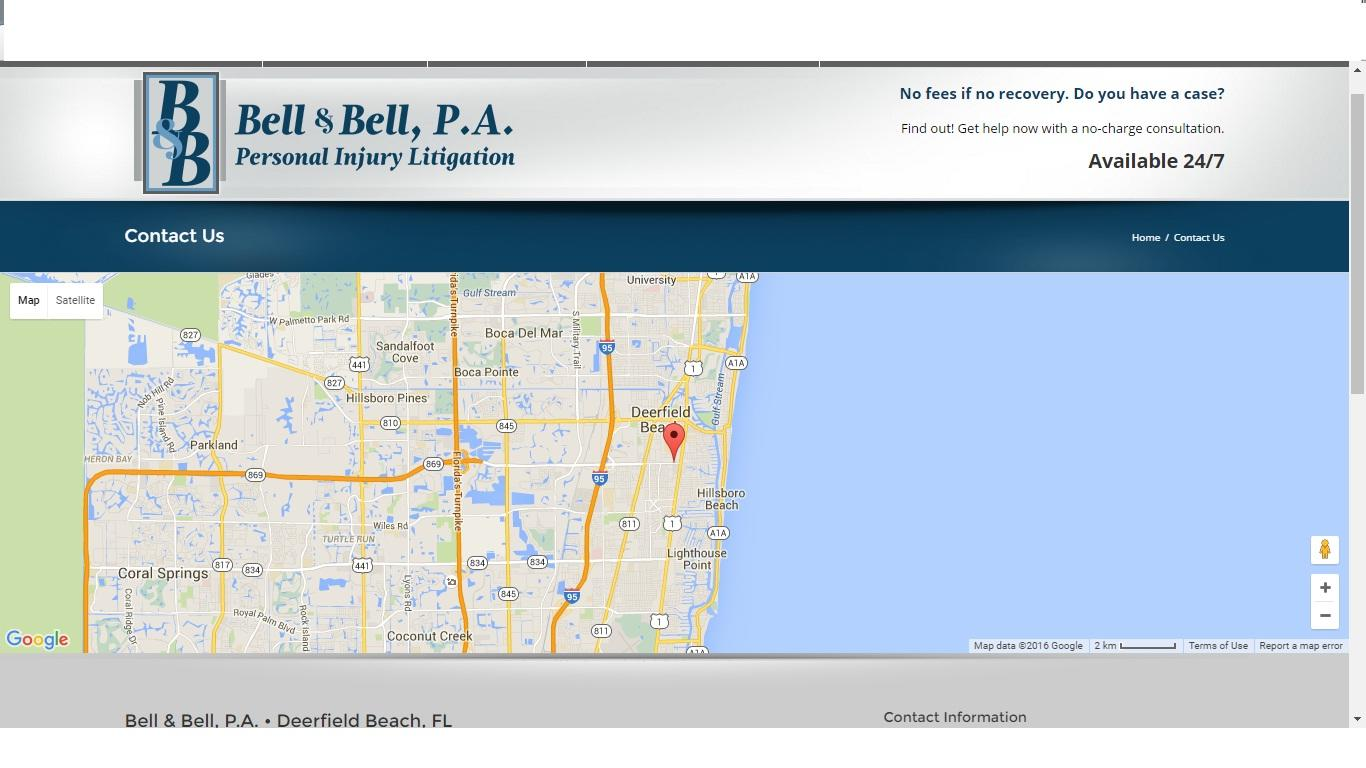 Bell Florida Mapquest