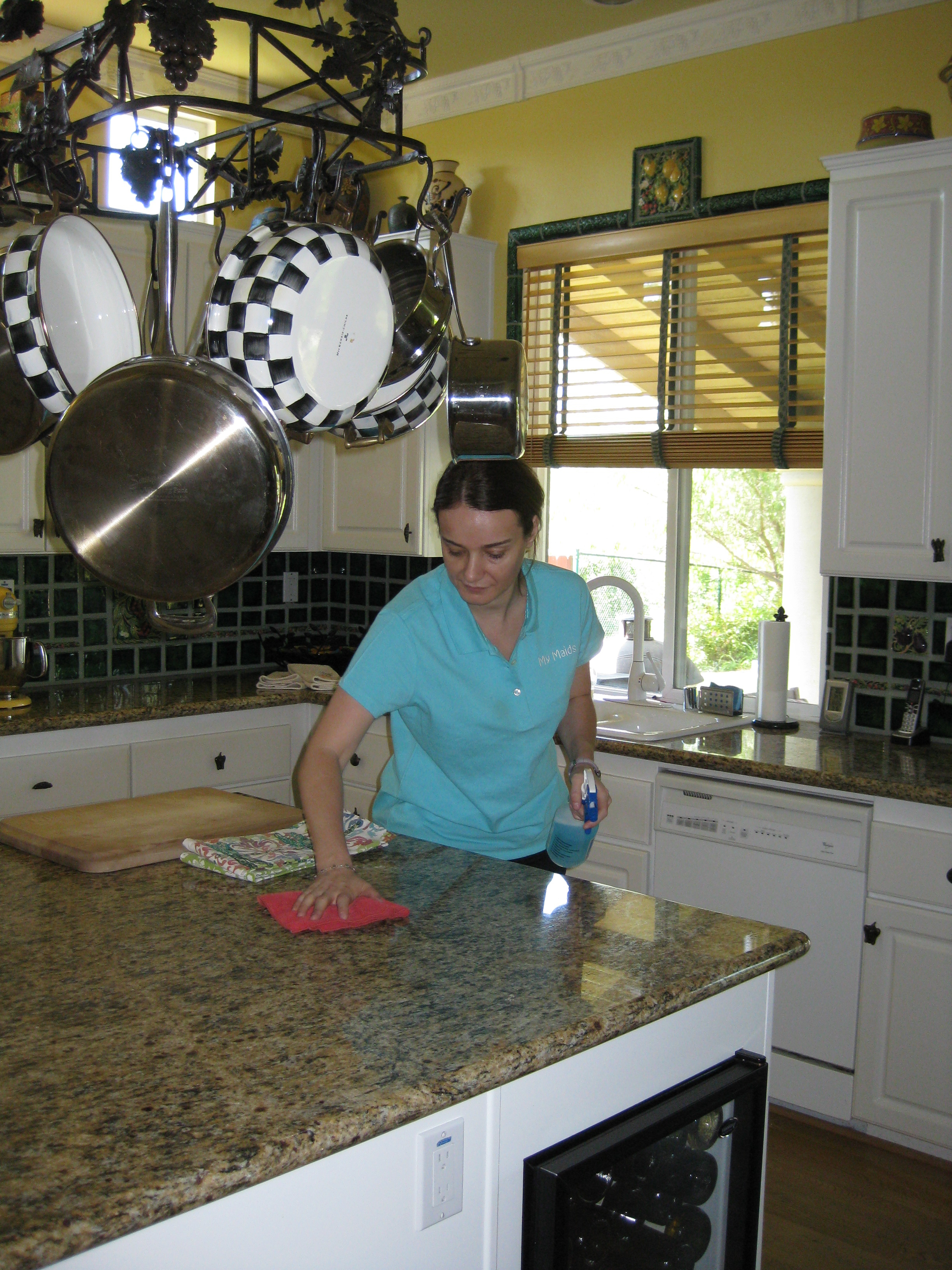 kitchen cleaning services butcher block countertops have a maids toluca lake california ca localdatabase