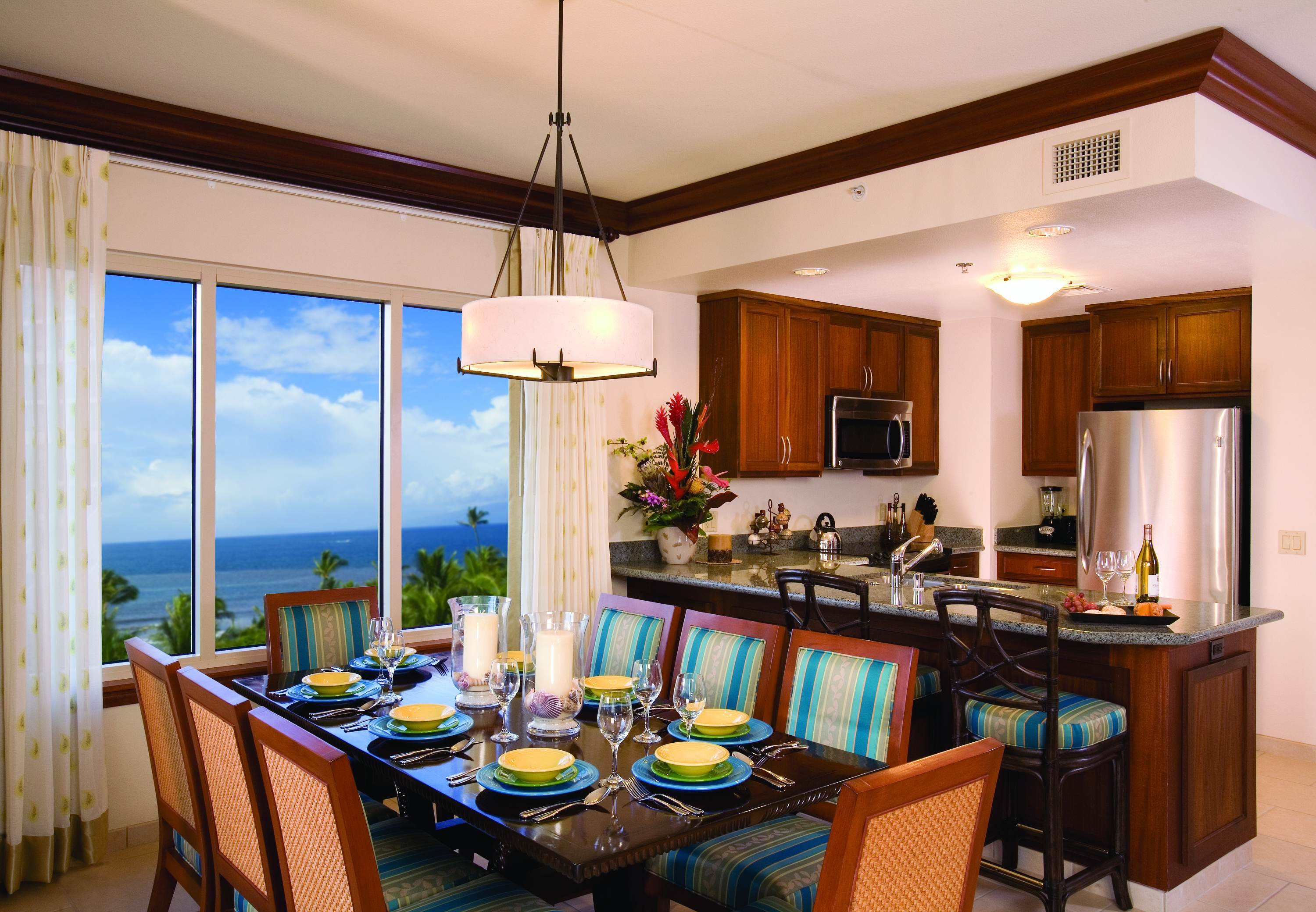 maui hotels with kitchens kitchen shelves marriott 39s ocean club lahaina and napili towers