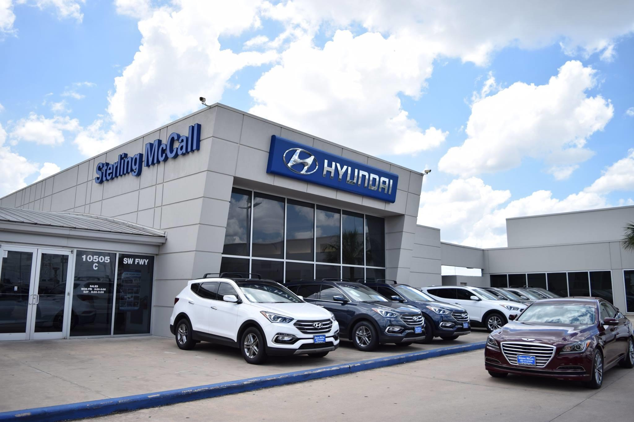 The majority of our service centres are also open and most of our dealers are available online to take enquiries. Sterling Mccall Hyundai Houston Dealership Service Center