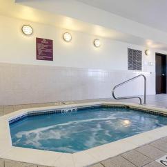 Krause Sleeper Sofa Leather Look Comfort Inn And Suites In Hutchinson Ks 67501