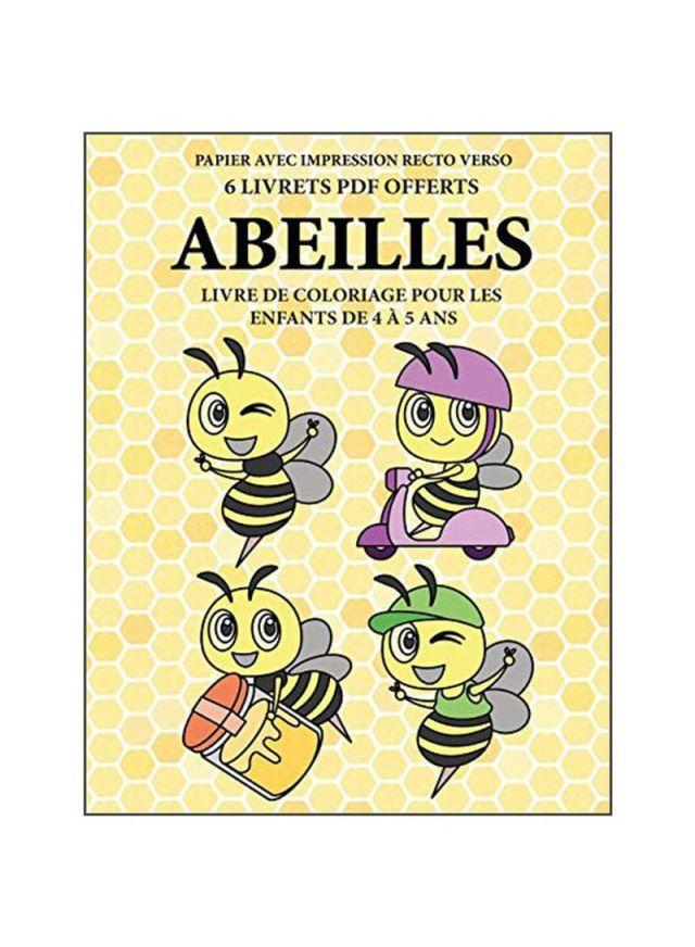 Shop Abeilles: Livre De Coloriage Pour Les Enfants De 24 A 24 Ans Paperback  online in Dubai, Abu Dhabi and all UAE