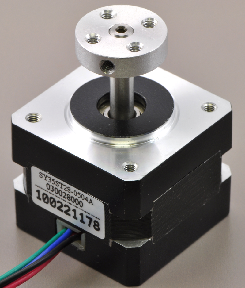 data cable wiring diagram house elevation pololu stepper motor bipolar 200 steps rev 42 38mm 2 8v 1 7 a 5mm universal aluminum mounting hub on with diameter output shaft