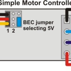 Diagram Motor Control Wiring 2016 F150 Subwoofer Pololu Simple Controller User S Guide For Connecting An Rc Receiver To A