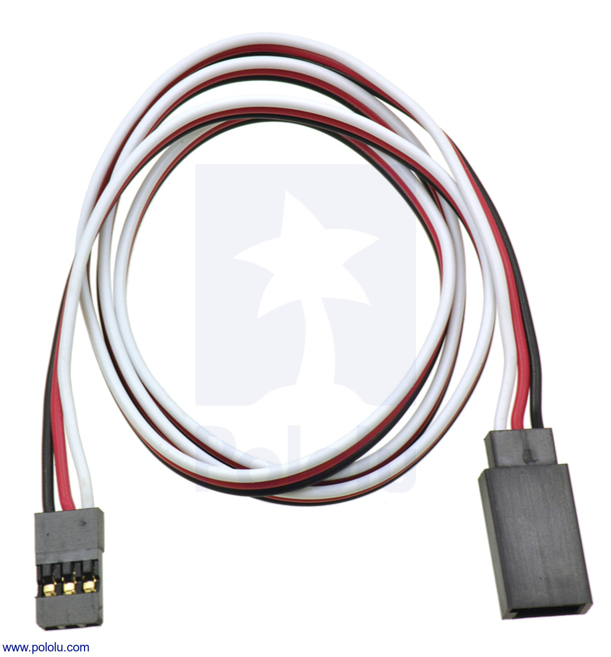 small resolution of servo extension cable 24 male female