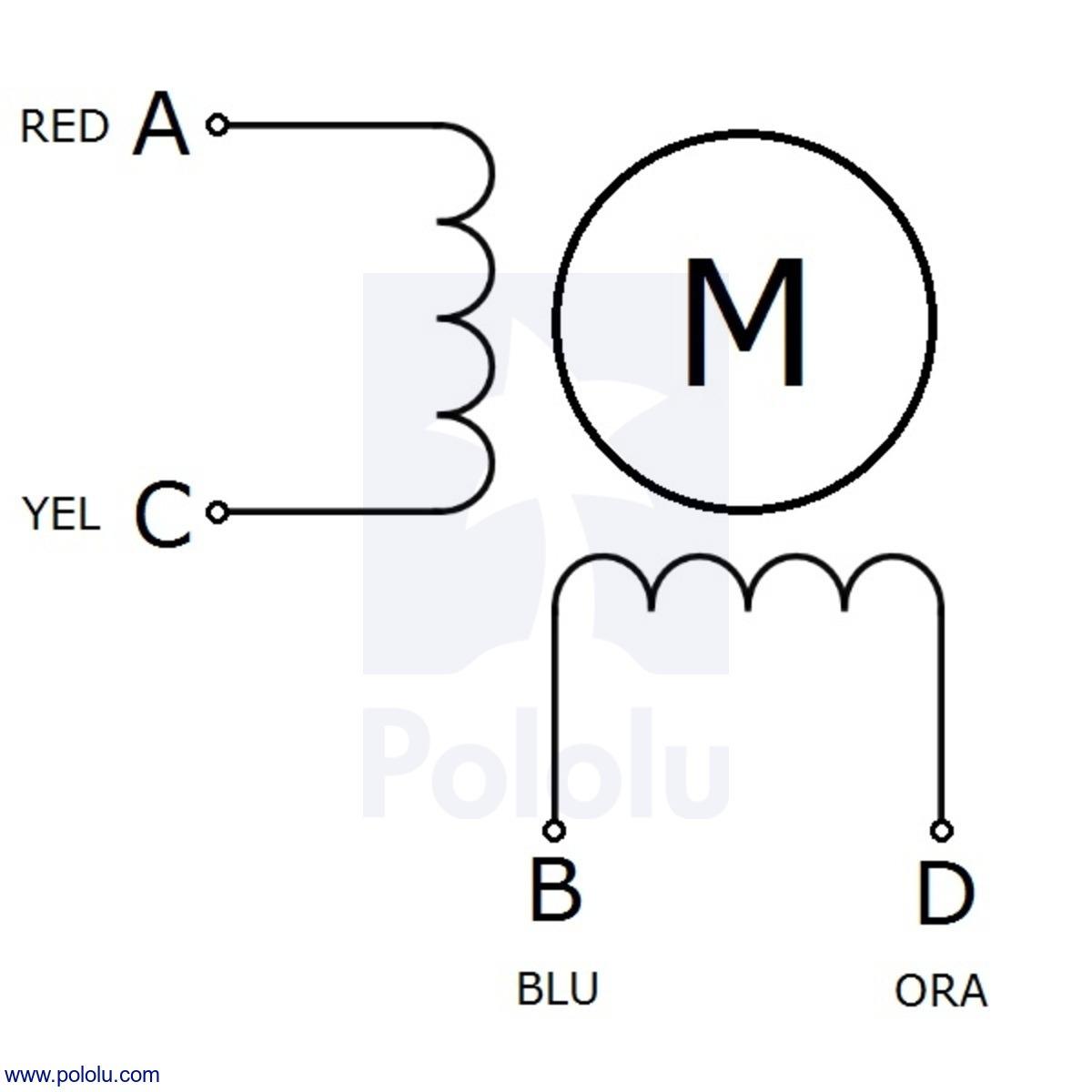 pololu sanyo miniature stepper motor bipolar 200 steps rev 14 wiring diagram rev14 [ 1200 x 1200 Pixel ]