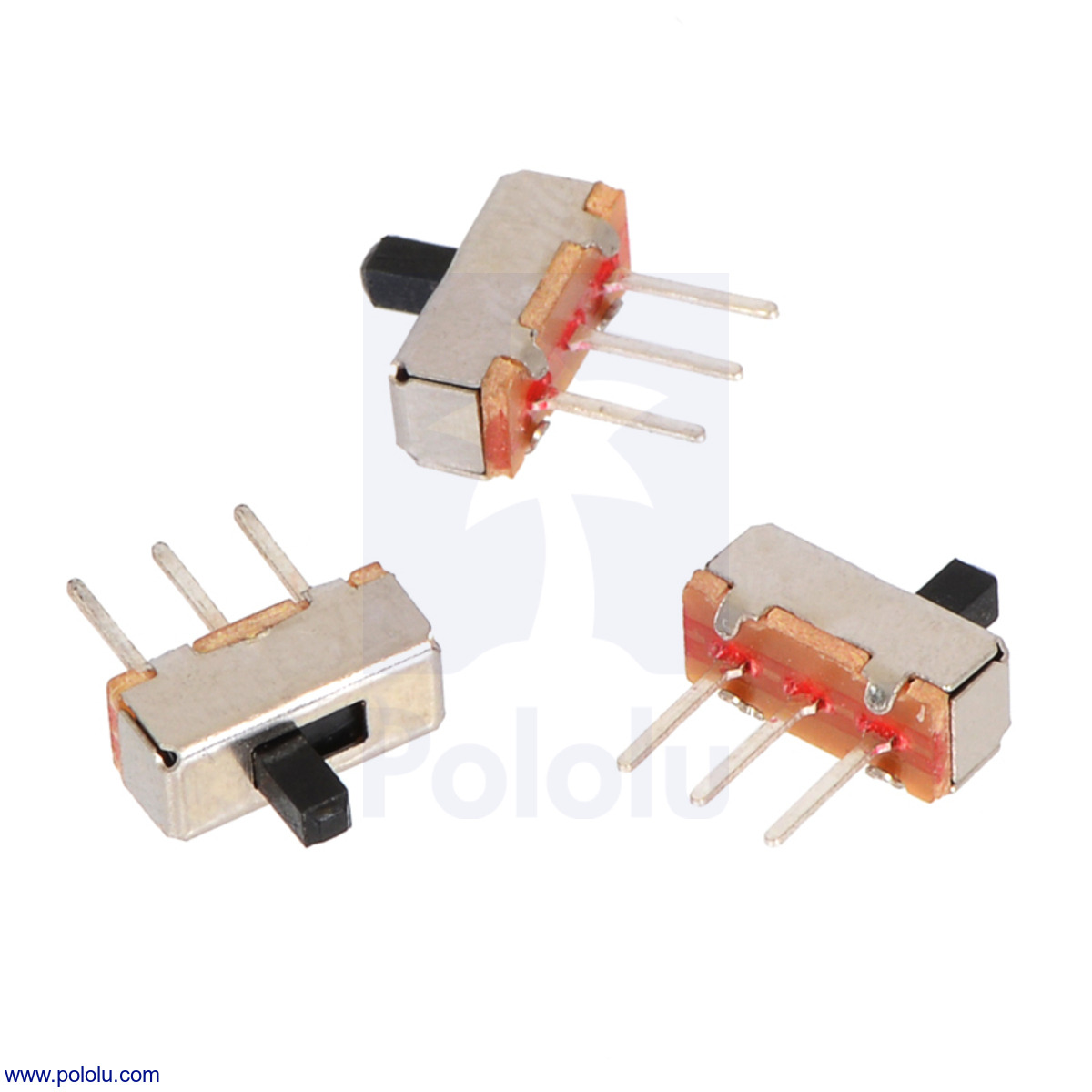 pololu mini slide switch 3 pin spdt 0 3a 3 pack slide [ 1200 x 1200 Pixel ]