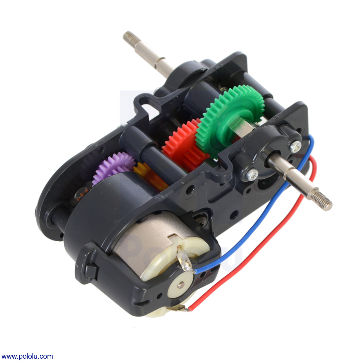 hight resolution of tamiya 72007 4 speed high power gearbox kit