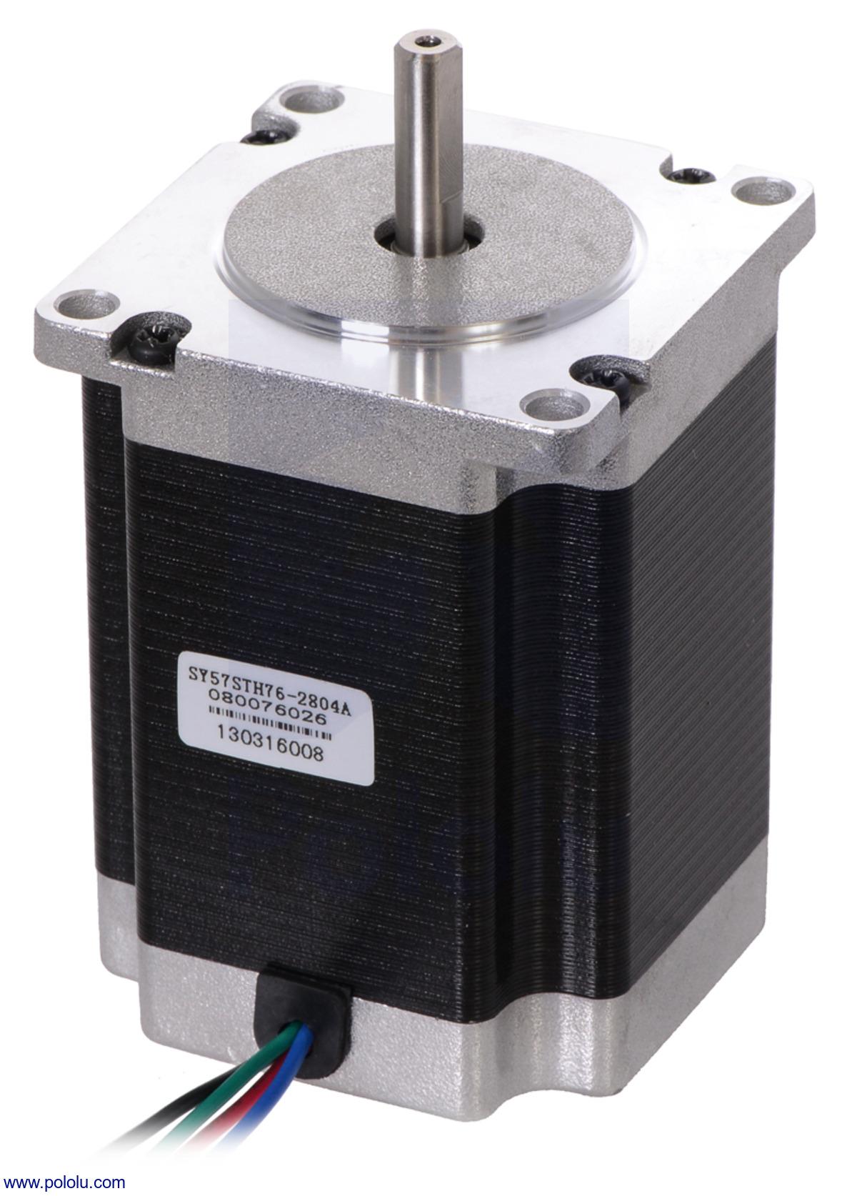 hight resolution of stepper motor bipolar 200 steps rev 57 76mm 3 2v 2 8 a phase