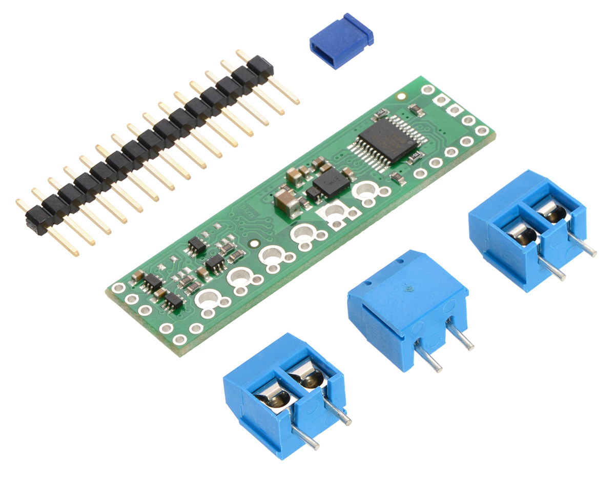 pin 7 arduino mercruiser wiring diagram 4 pololu a4990 dual motor driver shield for