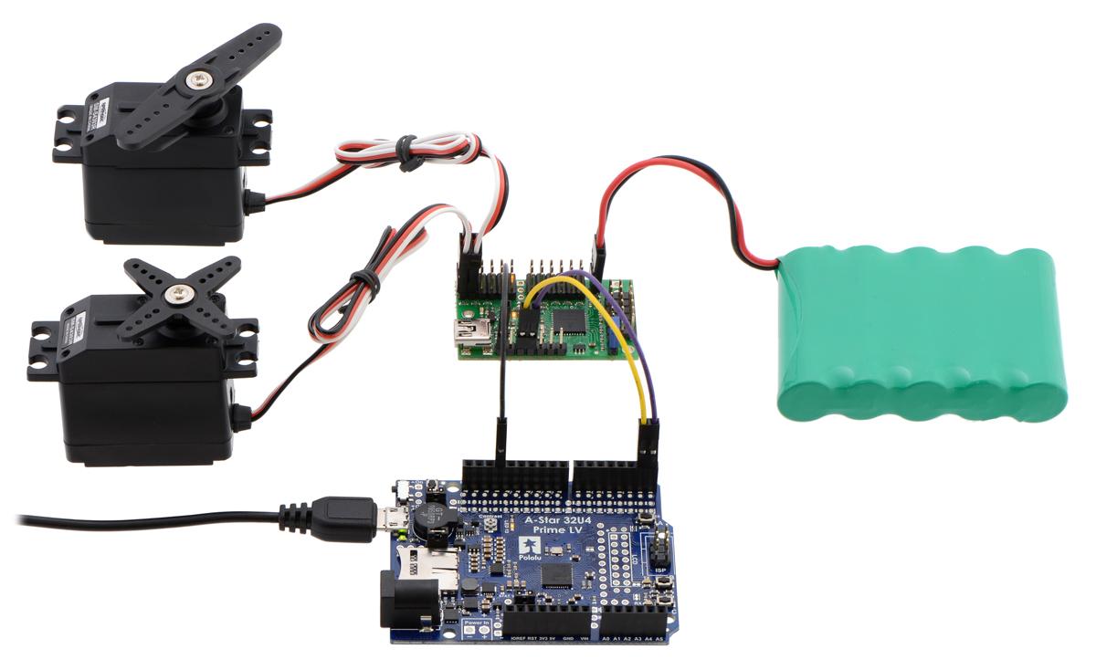 arduino uno servo wiring diagram [ 1200 x 734 Pixel ]