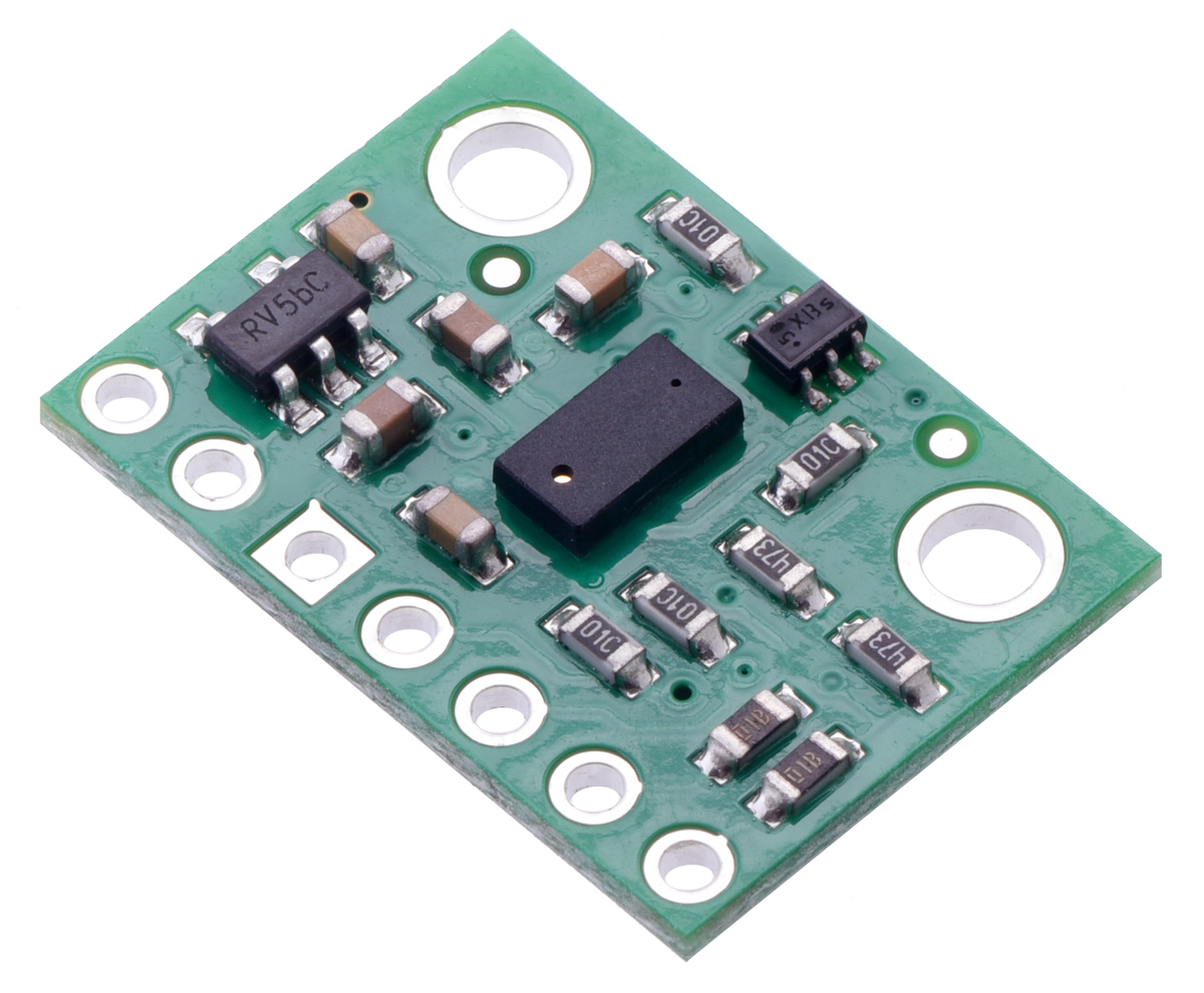 hight resolution of vl53l0x time of flight distance sensor carrier with voltage regulator 200cm max