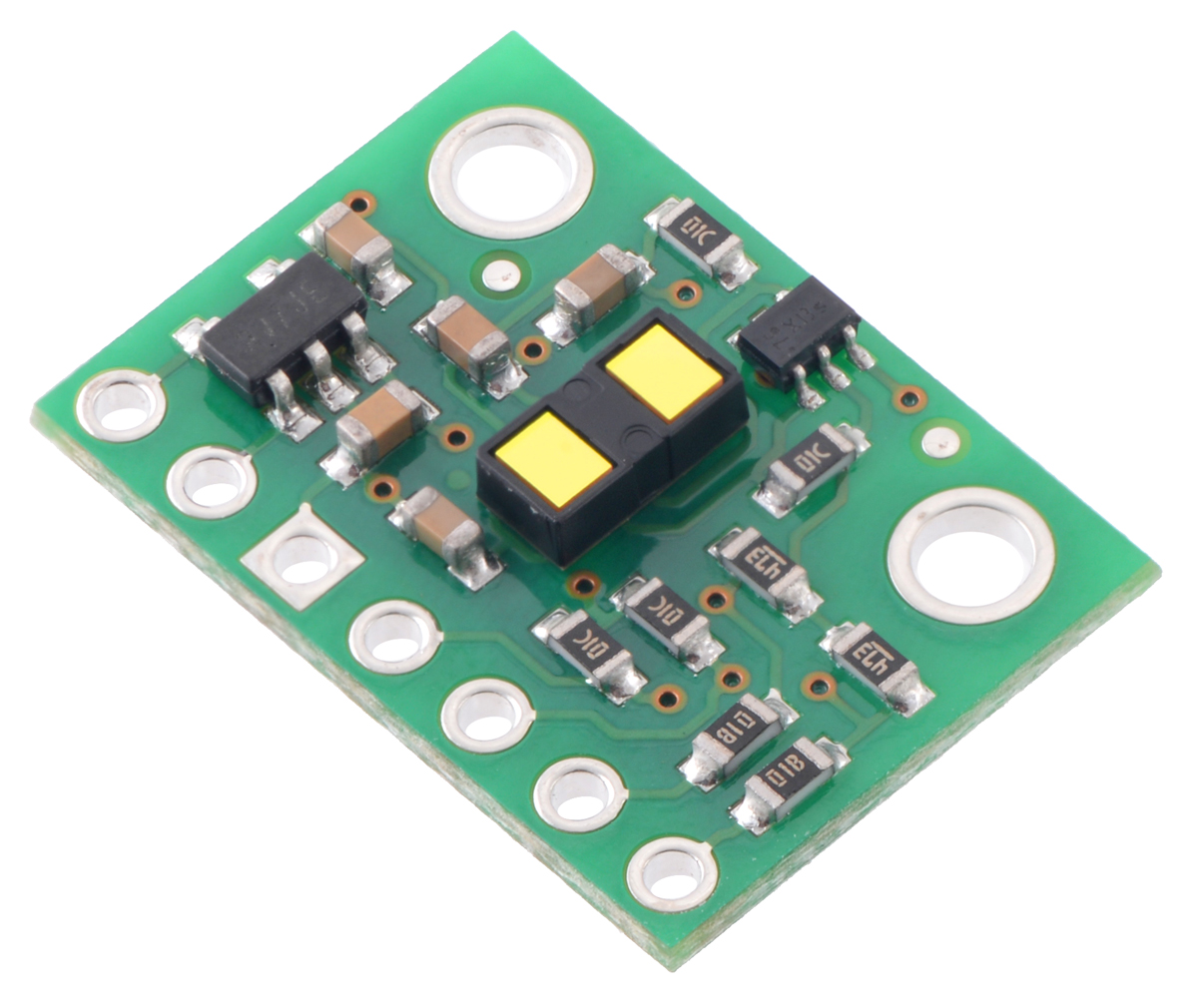 small resolution of vl53l1x time of flight distance sensor carrier with voltage regulator 400cm max