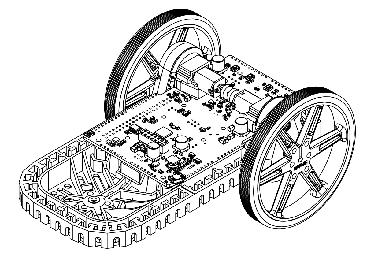 note that using different diameter wheels on the balboa with the stability conversion kit produces different decline angles for the robot the diagrams  [ 1200 x 850 Pixel ]