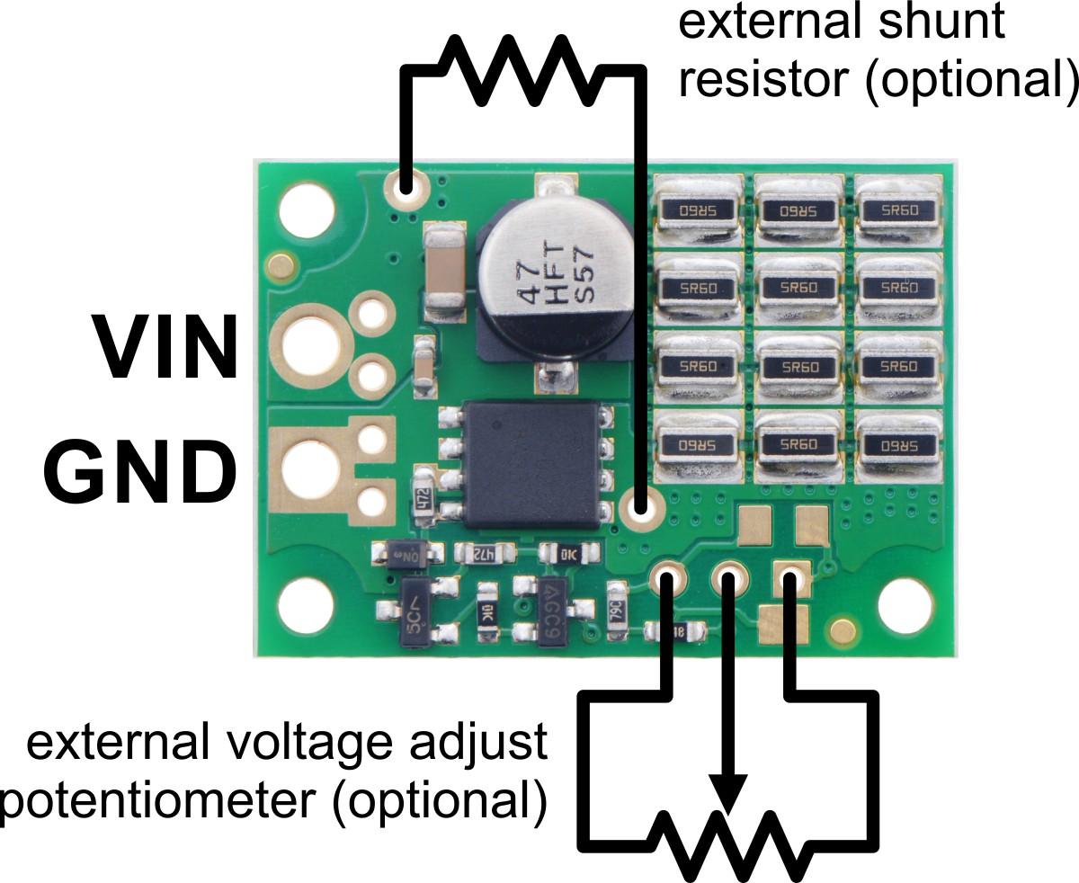 pinout diagram of the shunt regulators fixed voltage versions  [ 1200 x 982 Pixel ]