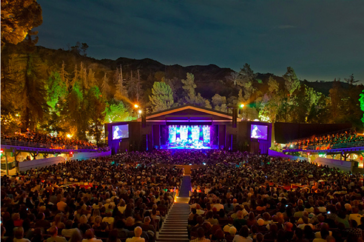 Greek Theatre Hollywood Bowl named best outdoor concert