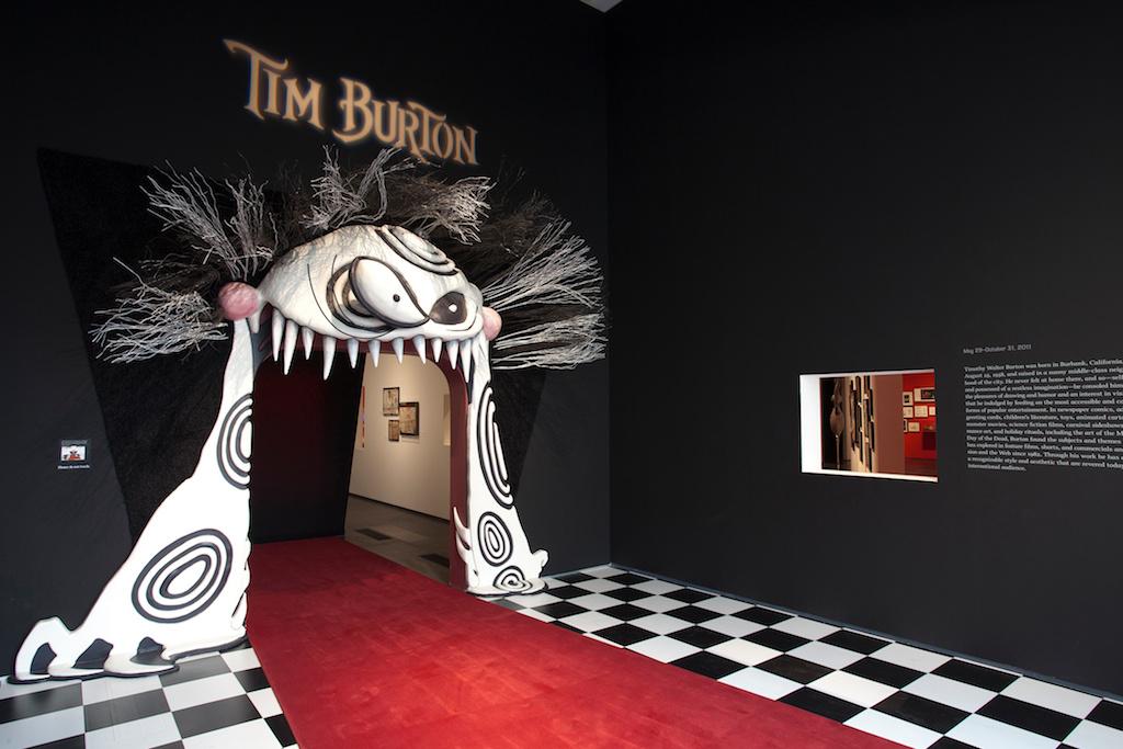 The Madeleine Brand Show Last Chance To See Tim Burton S