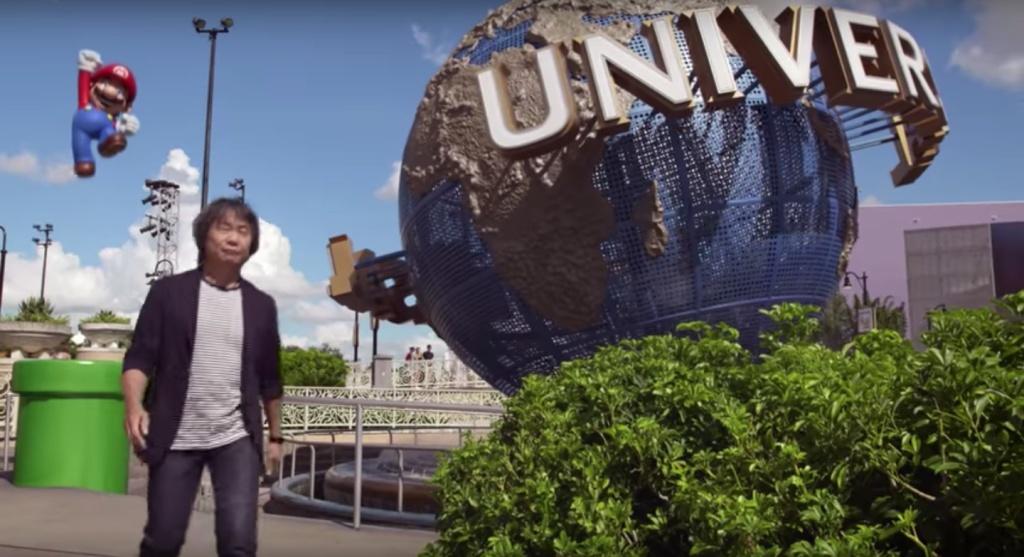 Video Universal Studios Hollywood lands Nintendo attractions  893 KPCC