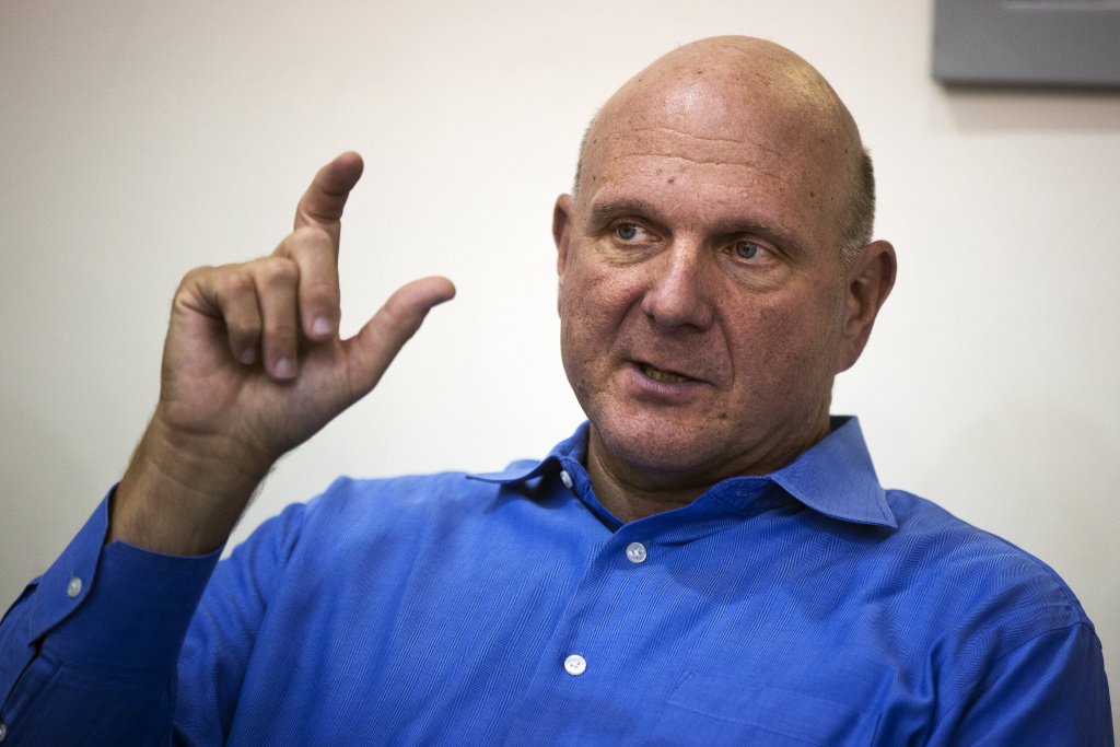 Take Two  Steve Ballmer Clippers have greater